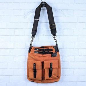 Mimo Sundance Canvas Crossbody Bag
